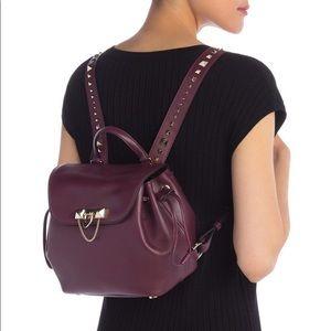Authentic Valentino Garavani rockstud backpack bag